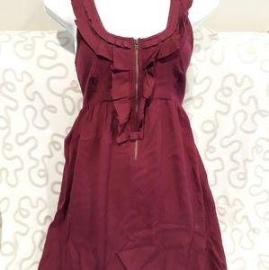 Kimchi and Blue maroon short dress size S